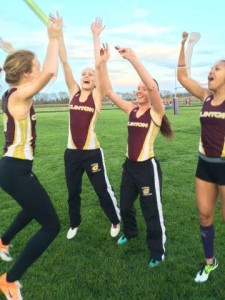 After 4x200 heard their time